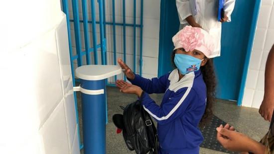 Maracás: Salas com 50% dos alunos e protocolos de higiene marcam volta às aulas na rede municipal
