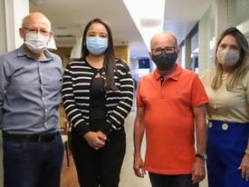 Em visita à UPB, prefeito de Maracás busca apoio para construção de hospital