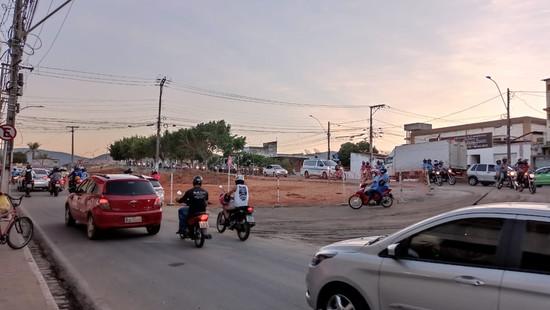 Obras da nova ponte promovem mudanças no trânsito de Jequié