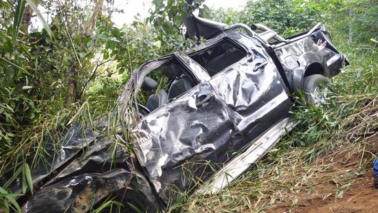Acidente na BA-250 deixa uma pessoa morta e três feridas em Lajedo Tabocal
