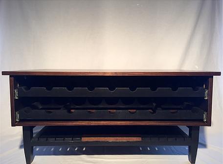fifteen degree furniture | coffee table w/ wine storage