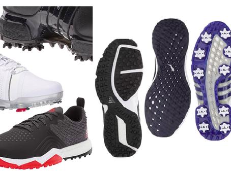 Spike vs Spikeless Golf Shoes