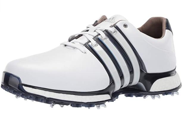 Adidas Tour 360 XT Golf Shoe - White/Bue