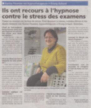 ARTICLE L'EVEIL DE PONT-AUDEMER JANVIER
