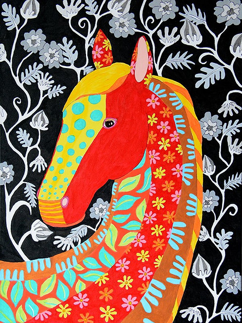 Pattered Horse - SOLD