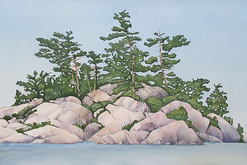 Water Rocks And Trees, Too