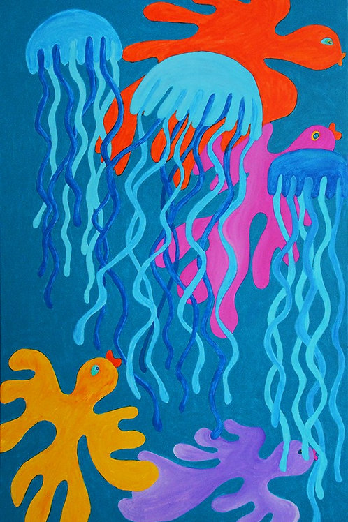 Jellyfish and the Seabirds