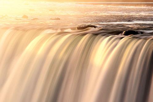 Niagara At Sun Rise