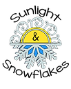 sunlight and snowflakes logo no website
