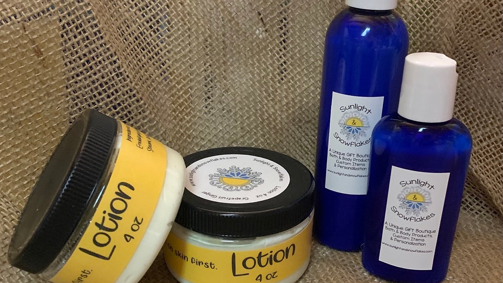 Hand & Body Lotion Collection
