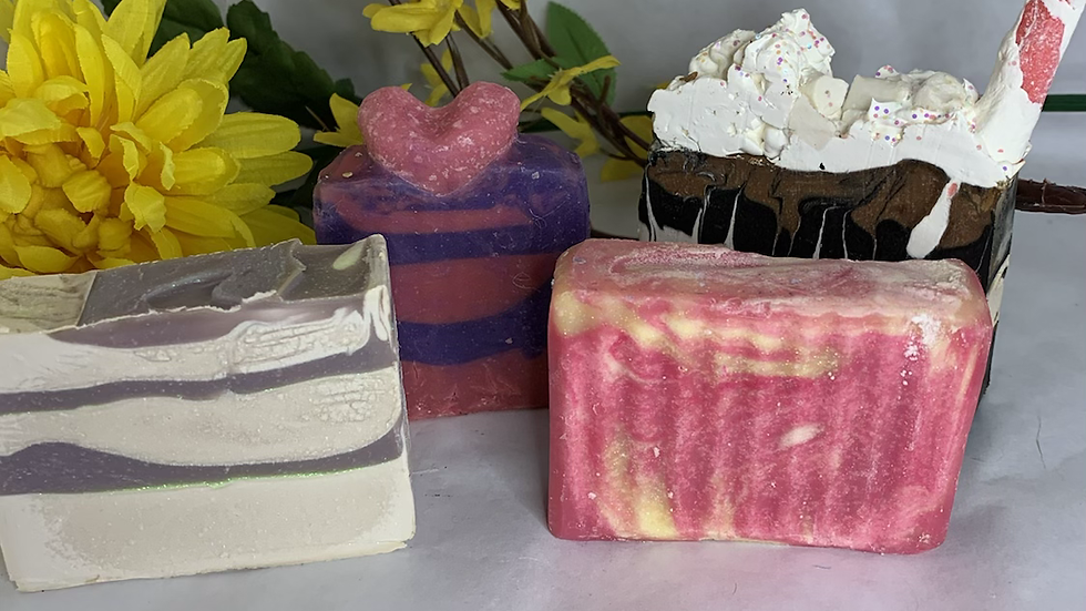 Kid & Teenager Bar Soaps Collection