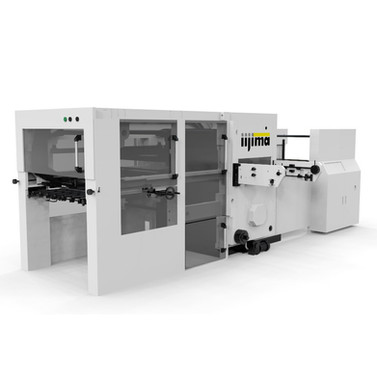 Automatic flat board punching machine