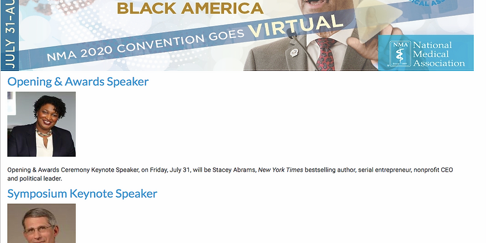 NMA National Convention 2020- Virtual Event