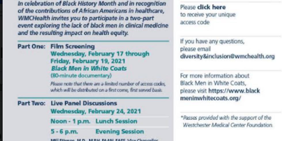 Ensuring Health Equity: Black Men in White Coats