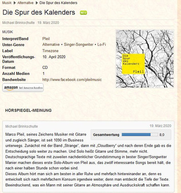 Der Hörspiegel-Review