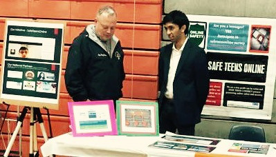 SafeTeens Online attracts students, parents, and teachers at the Pennsbury 23rd Annual Career Fair