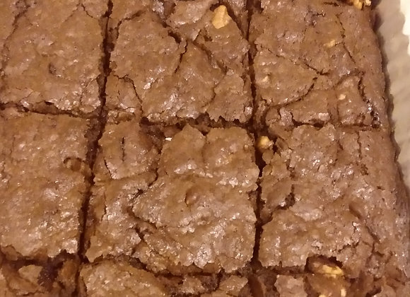 Vegan Chocolate Walnut Brownies