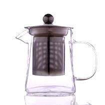 Small Square Glass Teapot with Infuser