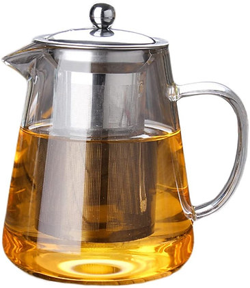 Small Glass Teapot with Infuser