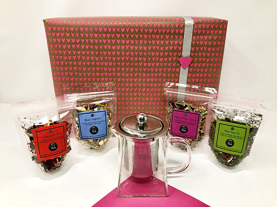 Mothers Day Teapot & Cocktails Gift Box