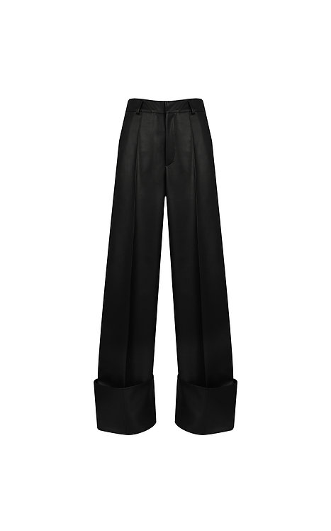 VEGAN LEATHER TROUSERS (PRE ORDER)