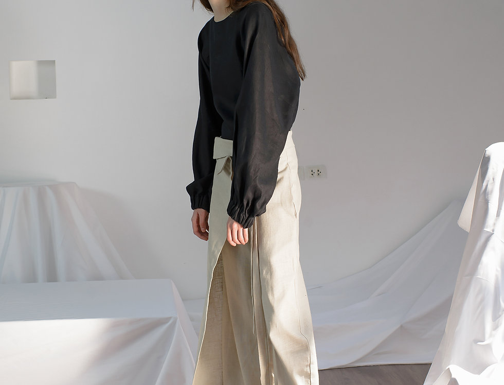LOCAL LINEN TROUSERS