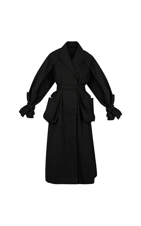 POET OVERSIZED TRENCH COAT