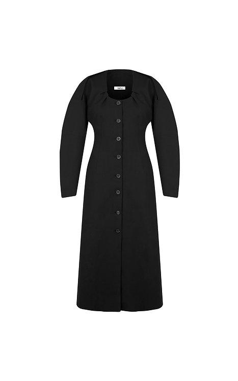 CLOISTER WOOL DRESS