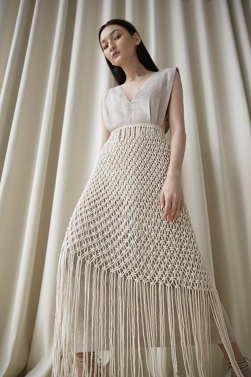 LINEN CAPSULE DRESS