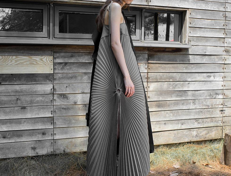 ACCORDIAN PLEATED DRESS