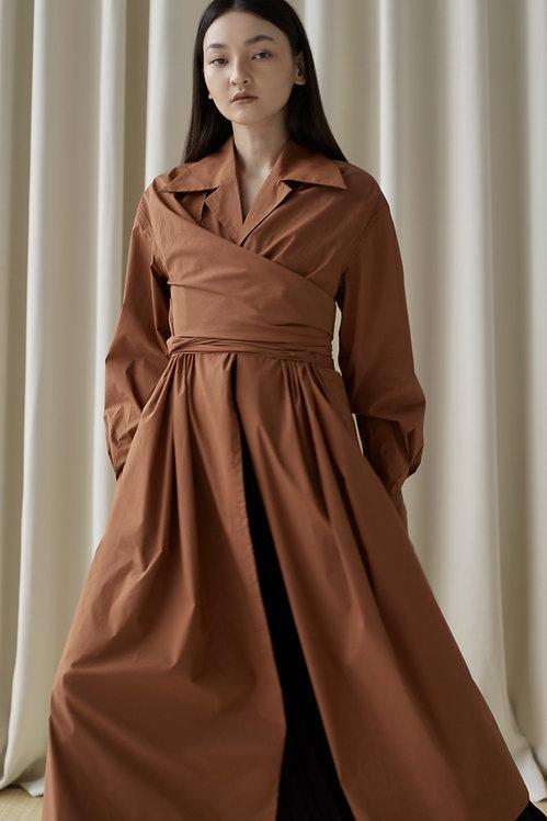 LAYER SHIRT DRESS