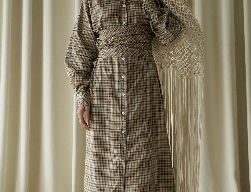 OVERSIZED SHIRT DRESS