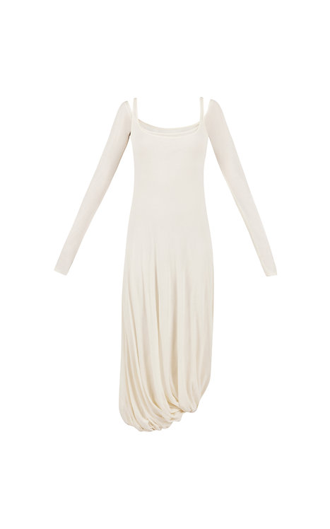 LAYER BALLOON DRESS