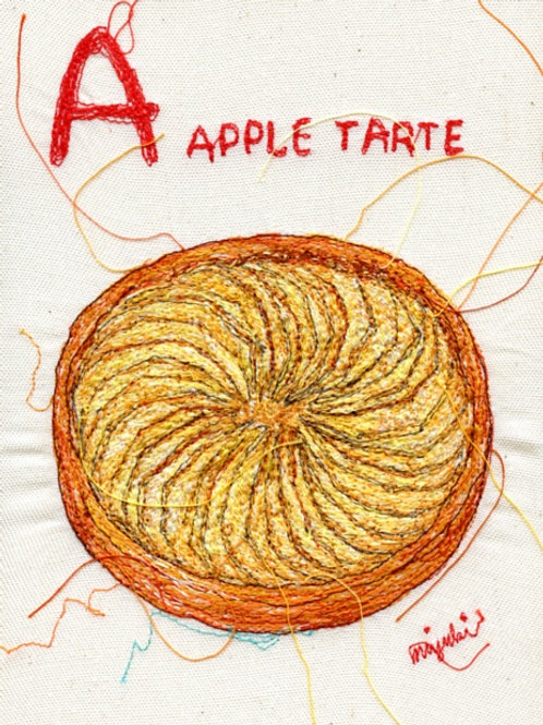 5x7 Apple Tarte