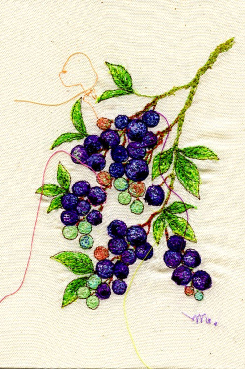 5x7 Brueberry