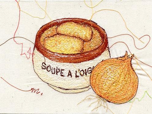 5x7 Onion Soup