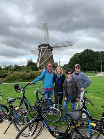 Biking in Amsterdam's Countryside