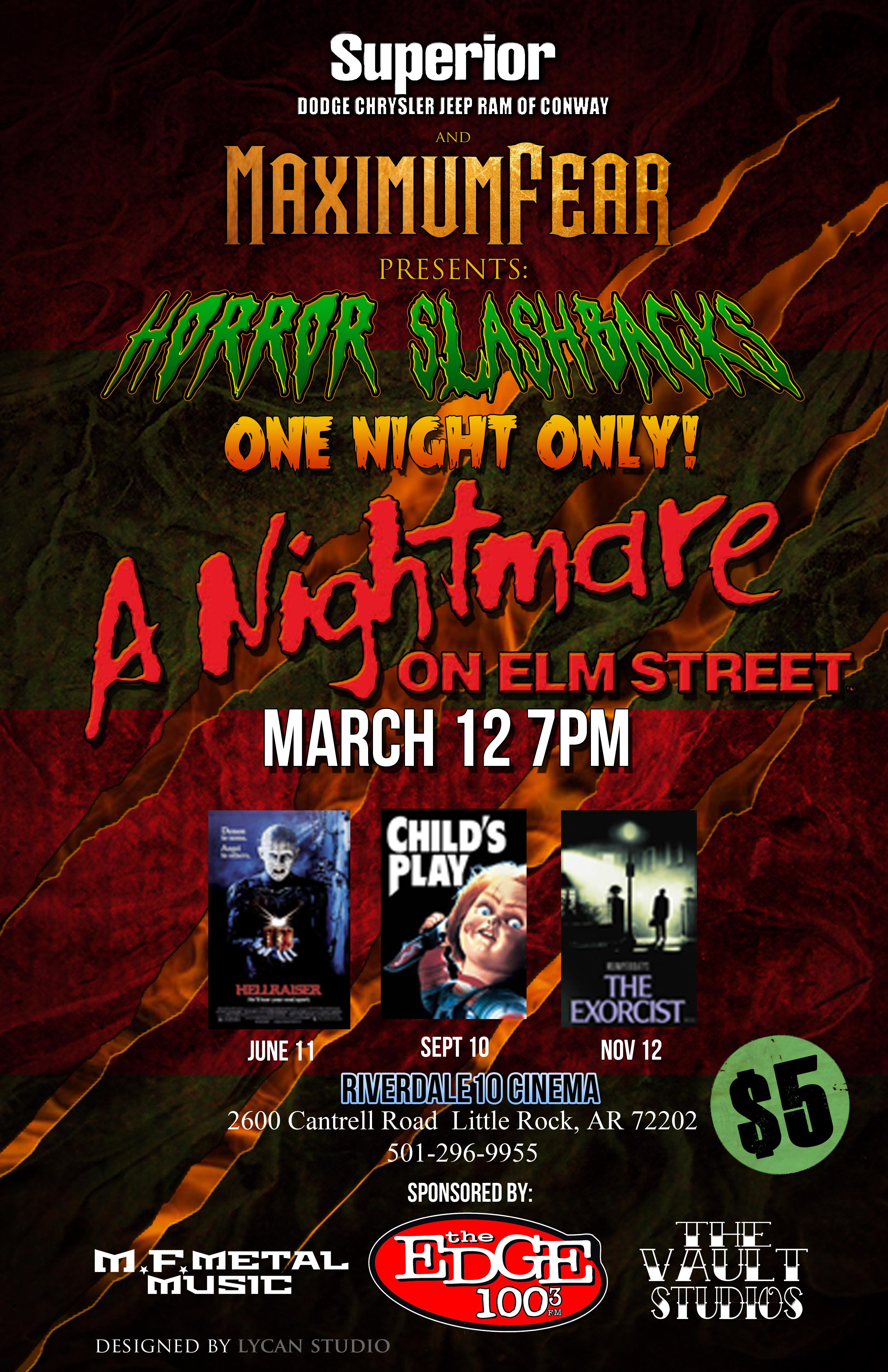 03/12/15 - A Nightmare On Elm Street