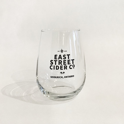 East Street Cider Stemless Glass