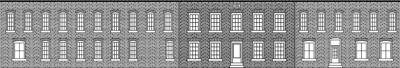 Illustration of building at 130 East St. Goderich