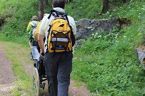 Percorso in Valtournanche