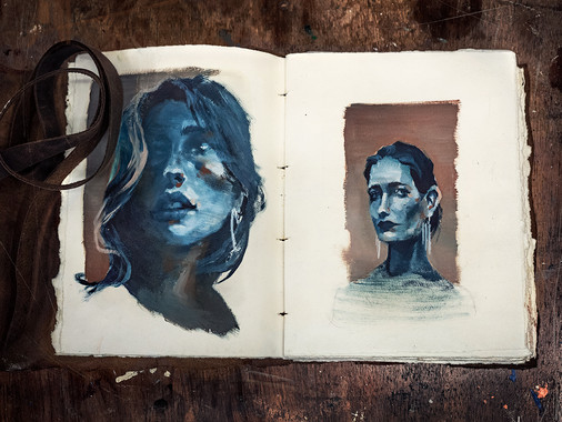 Arkane | Sketchbook oil