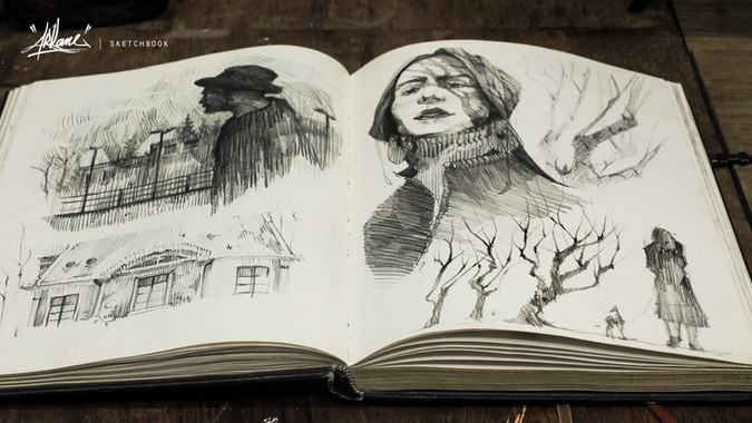 Arkane sketchbook