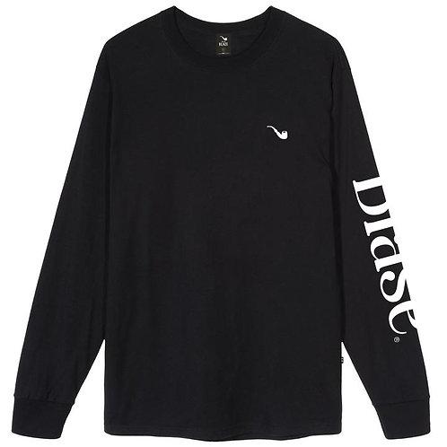 Camiseta Manga Longa Blasé Preta
