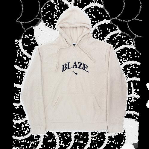 Fleece Hoodie Blaze College Off White