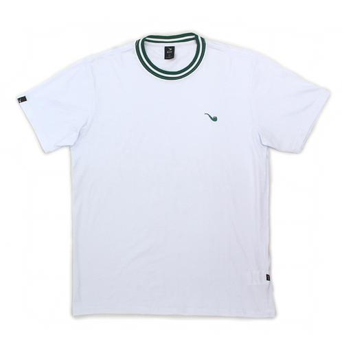 Camiseta Pipe Collar Branca