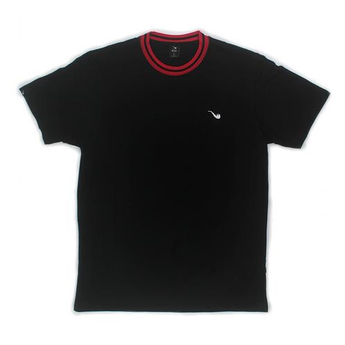 Camiseta Pipe Collar Preta