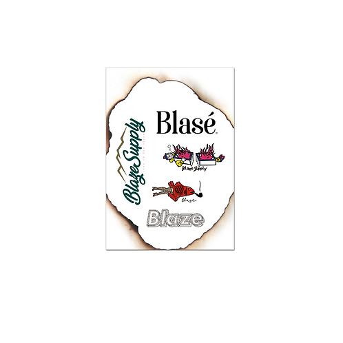 Adesivos Blaze Supply