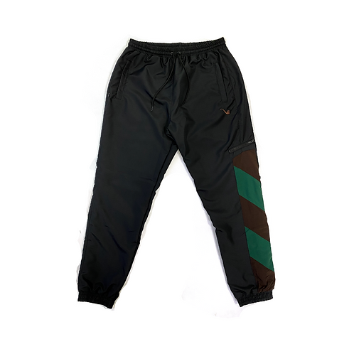 Trackpants Tricolor Brown