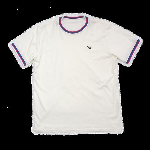 Camiseta Classic Small Pipe Off White